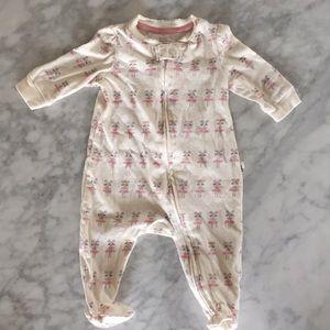 Baby Gap organic baby pjs 0-3 months